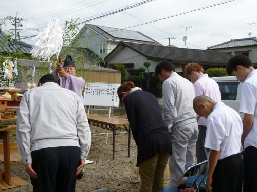 東京塚の家 新築工事 着工